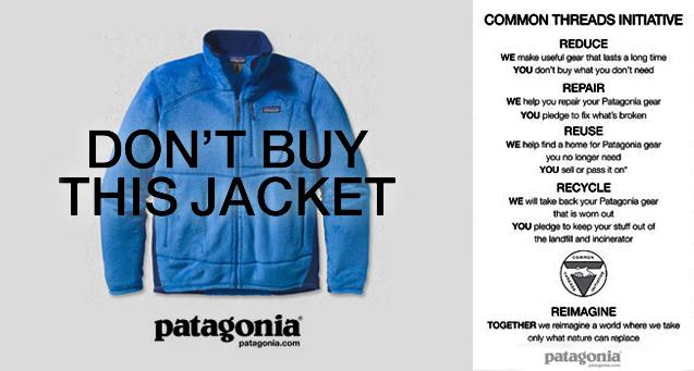 Patagonia Reverse Psychology Marketing Strategy